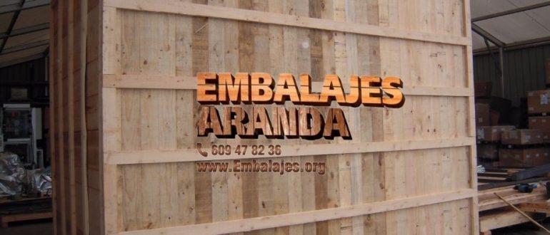Embalaje madera Berga Barcelona