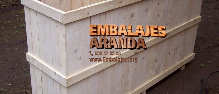 Embalaje madera Bergara Gipuzkoa