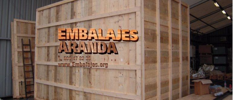 Embalaje madera Berja Almería
