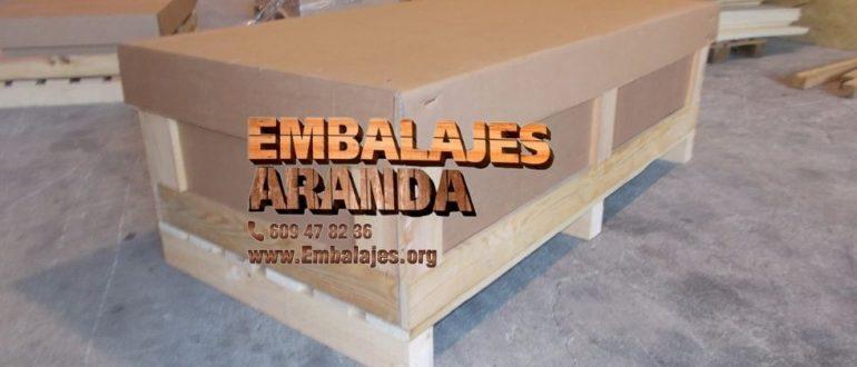 Embalaje madera Betanzos A Coruña