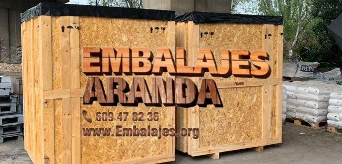 Embalaje madera Bilbao