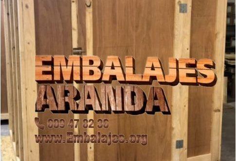 Embalaje madera Cáceres Extremadura