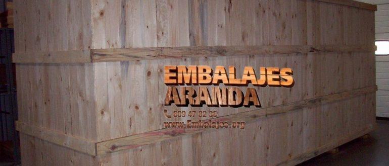 Embalaje madera Cádiz Andalucía