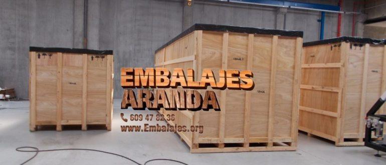Embalaje madera Cartagena Murcia