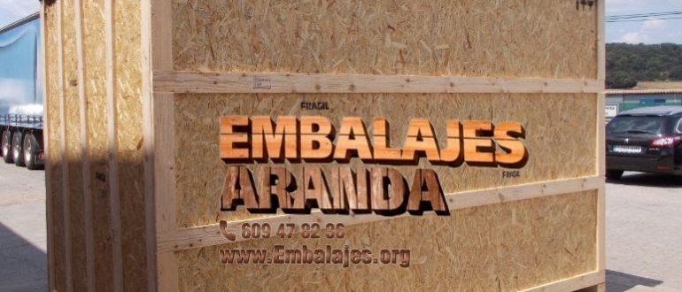 Embalaje madera Castelló de la Plana