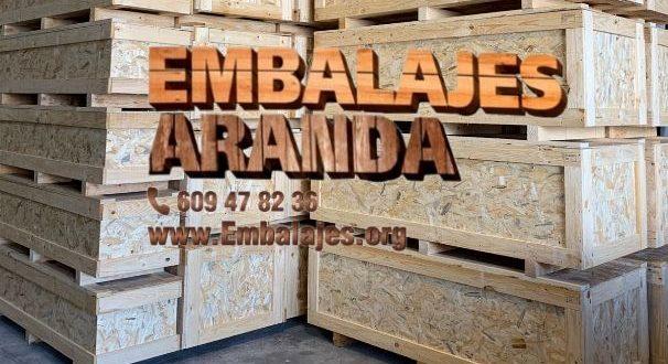 Embalaje madera Chiclana de la Frontera