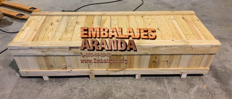 Embalaje madera Ciudad Real