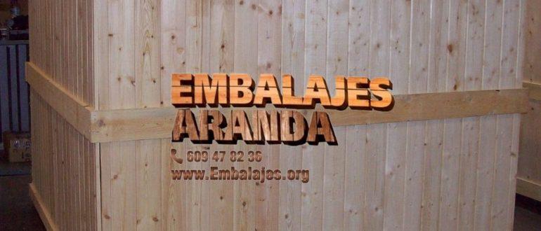 Embalaje madera Córdoba