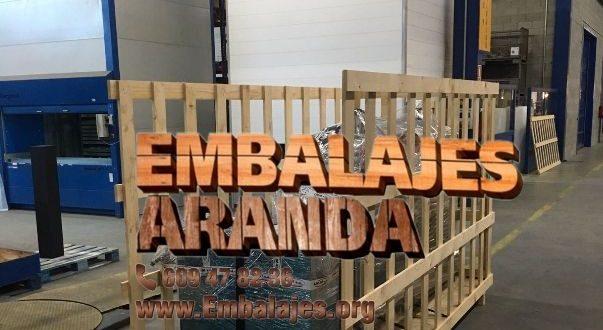 Embalaje madera Cornellá de Llobregat