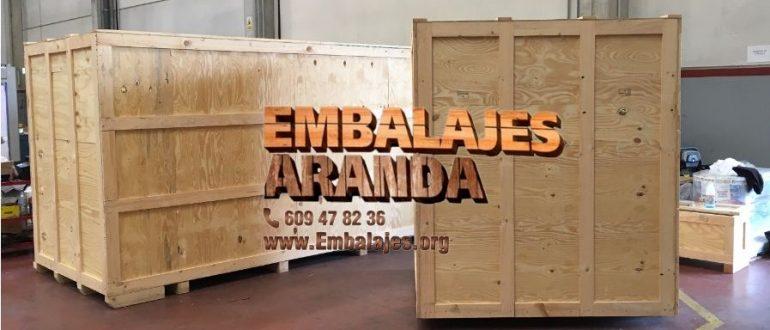 Embalaje madera Coslada Madrid