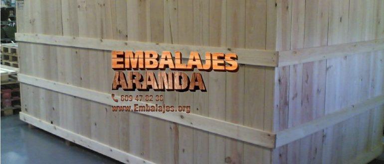 Embalaje madera Dos Hermanas Sevilla