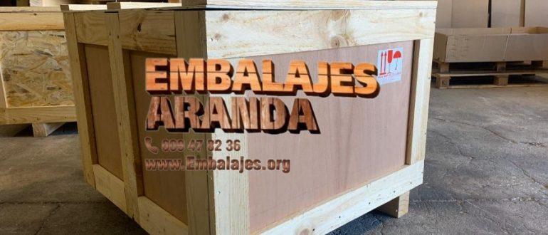 Embalaje madera El Ejido Almería