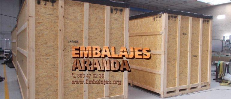 Embalaje madera Elx Alicante