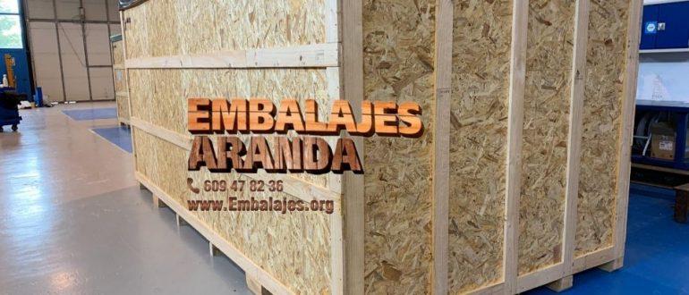 Embalaje madera Ferrol A Coruña
