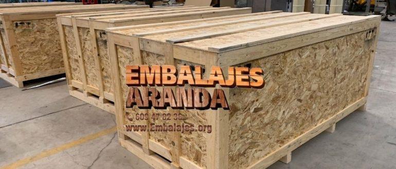 Embalaje madera Fuengirola Málaga