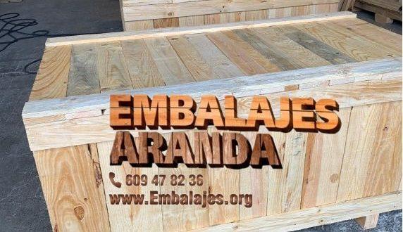 Embalaje madera Gandía València