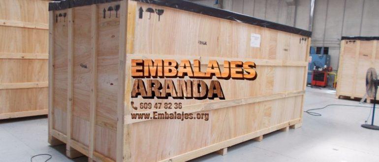 Embalaje madera Getafe Madrid