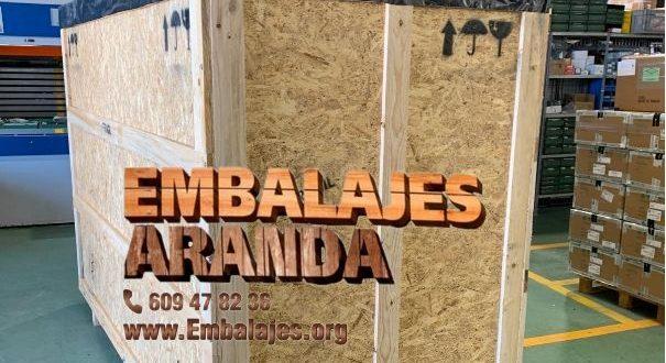 Embalaje madera Getxo Bizkaia