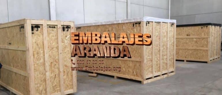Embalaje madera Gijón Asturias