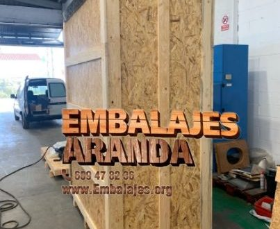 Embalaje madera Granada Andalucía