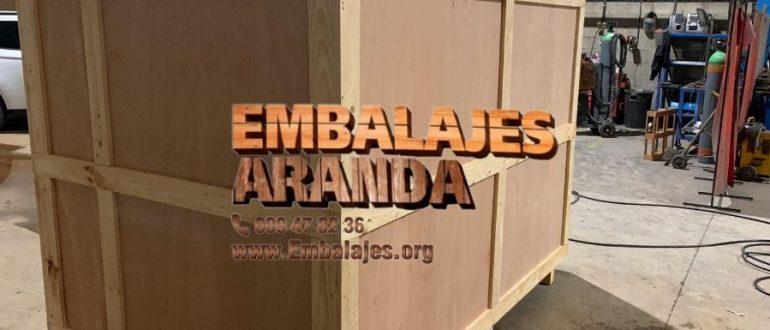 Embalaje madera Guadalajara