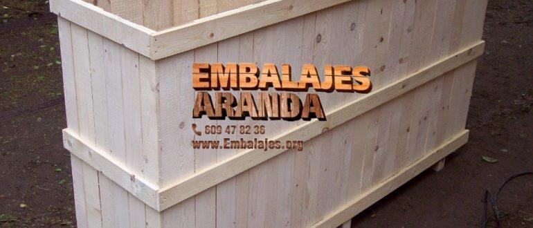 Embalaje madera Huelva