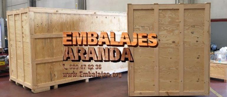Embalaje madera Jaén Andalucía