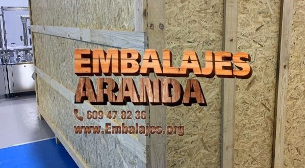 Embalaje madera Jerez de la Frontera Cádiz