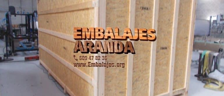 Embalaje madera L'Hospitalet de Llobregat