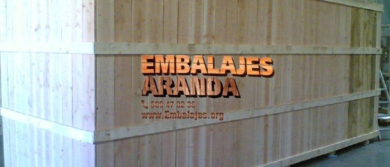 Embalaje madera Las Palmas de Gran Canaria