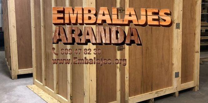 Embalaje madera Las Rozas de Madrid