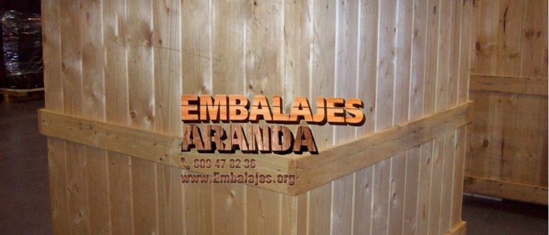 Embalaje madera León Castilla y León