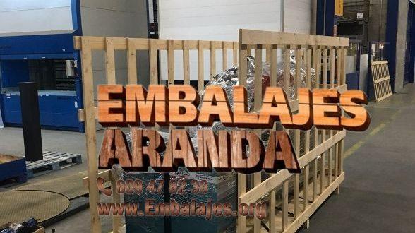 Embalaje madera Lorca Murcia