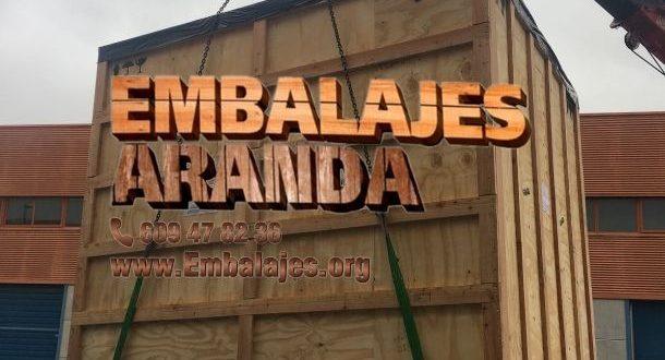 Embalaje madera Madrid Comunidad de Madrid