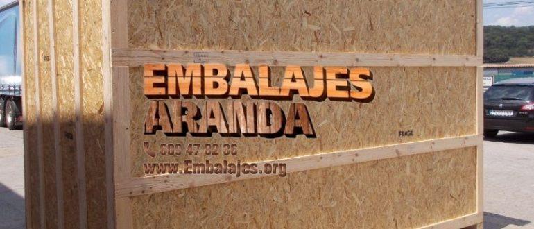Embalaje madera Málaga Andalucía