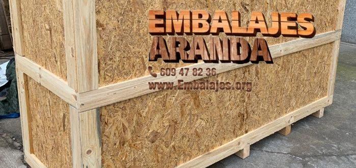 Embalaje madera Manresa Barcelona