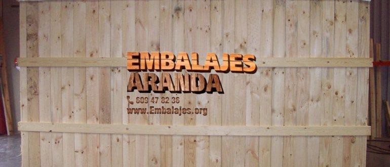 Embalaje madera Marbella Málaga