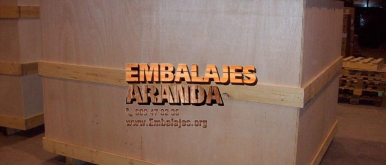 Embalaje madera Mataró Barcelona