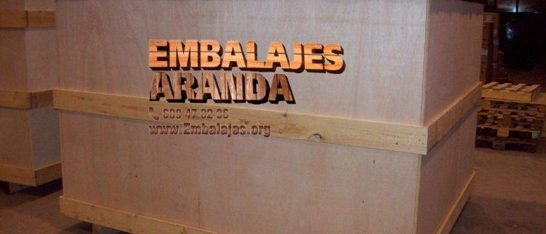 Embalaje madera Melilla