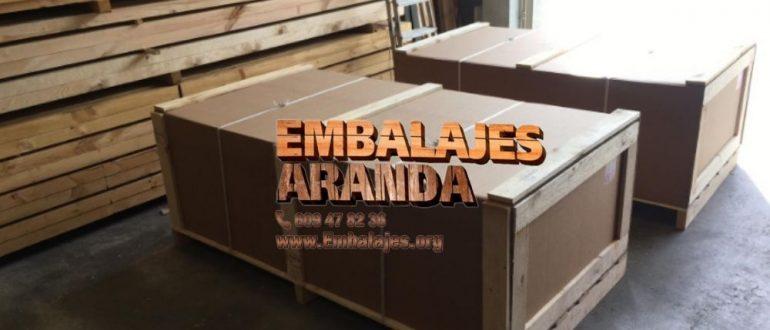 Embalaje madera Móstoles Madrid