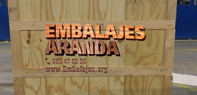 Embalaje madera Murcia