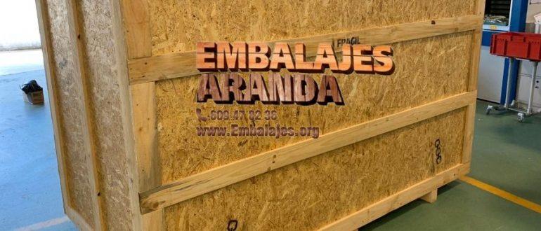 Embalaje madera Orihuela Alicante