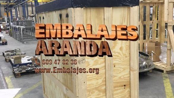 Embalaje madera Ourense Galicia