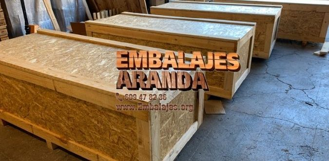 Embalaje madera Palencia
