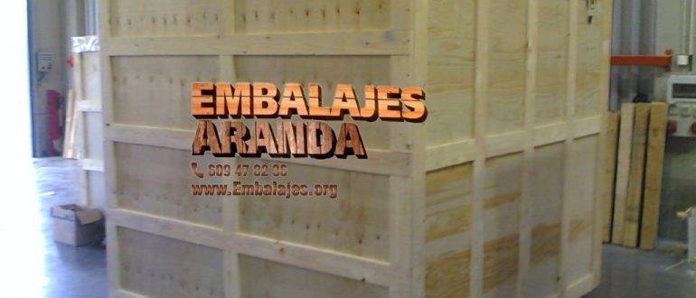 Embalaje madera Parla Madrid
