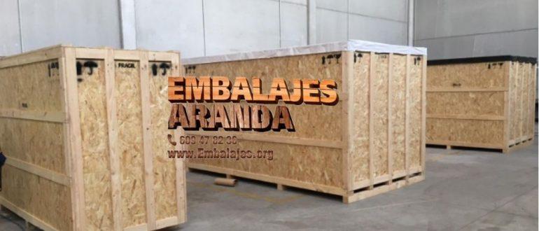 Embalaje madera Paterna València