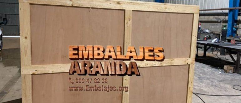 Embalaje madera Rivas-Vaciamadrid