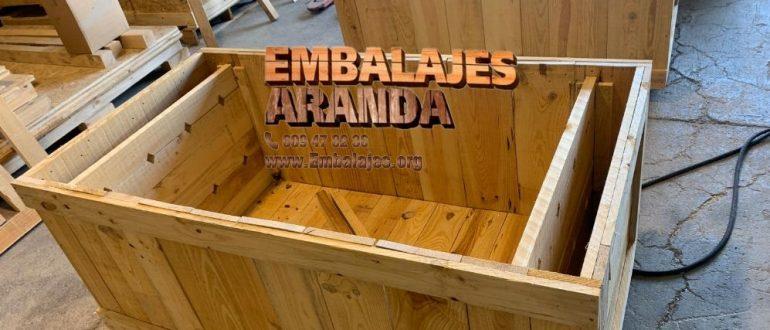 Embalaje madera Rubí Barcelona