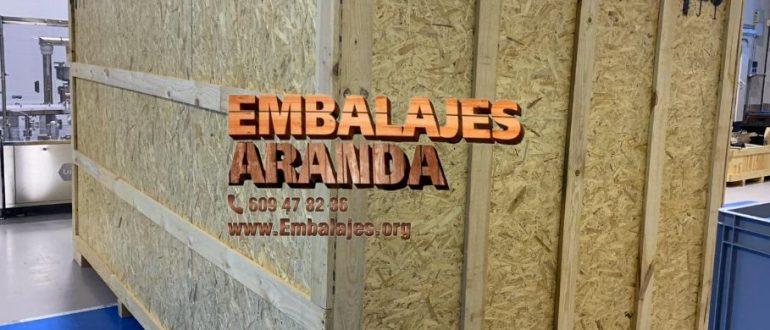 Embalaje madera Sabadell Barcelona