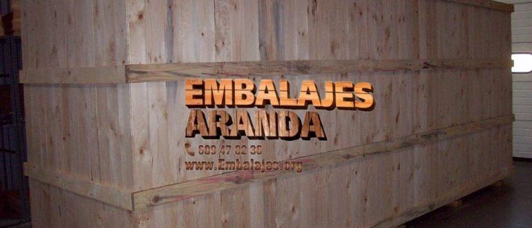Embalaje madera Sagunto València